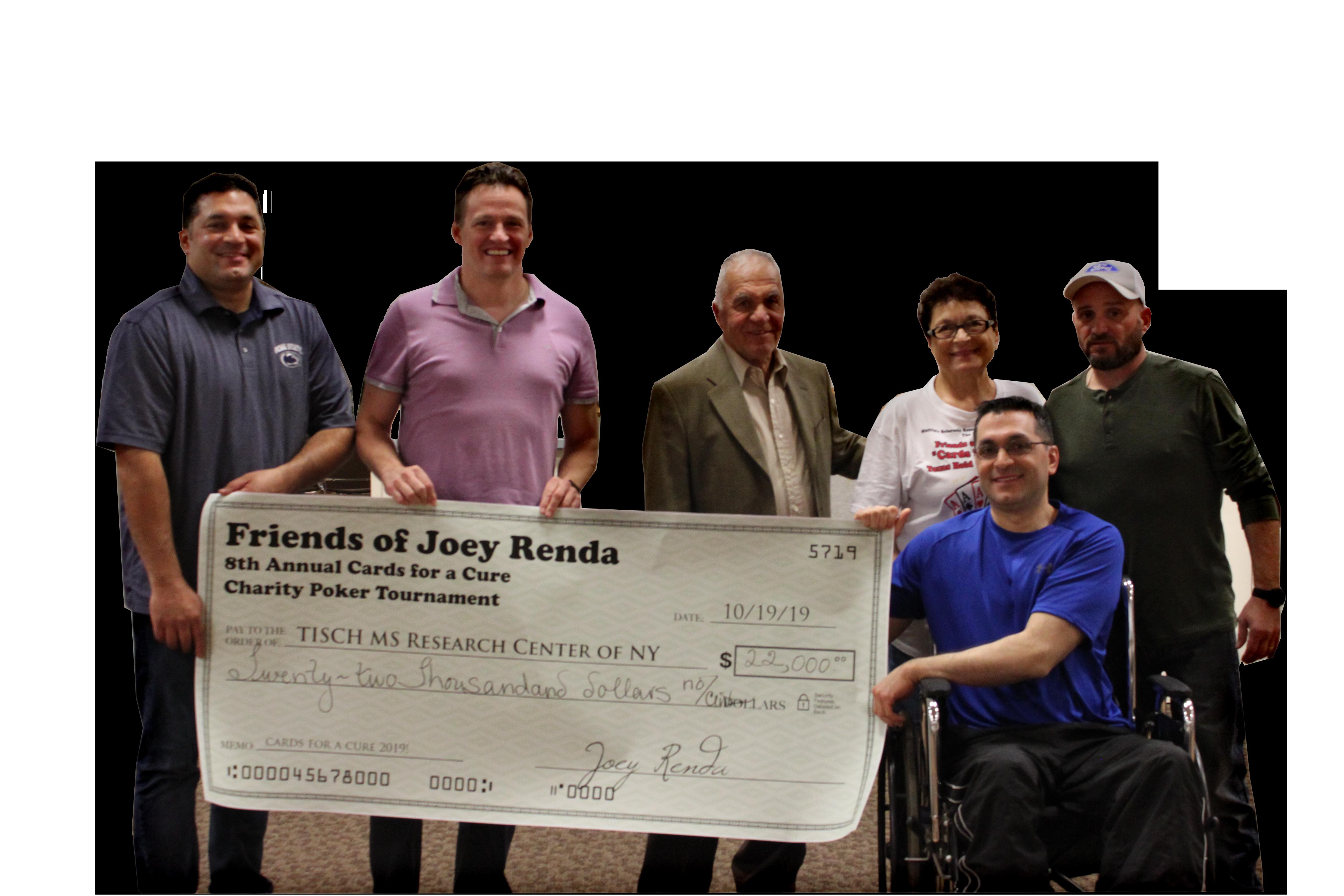 Friends of Joey Renda 2019
